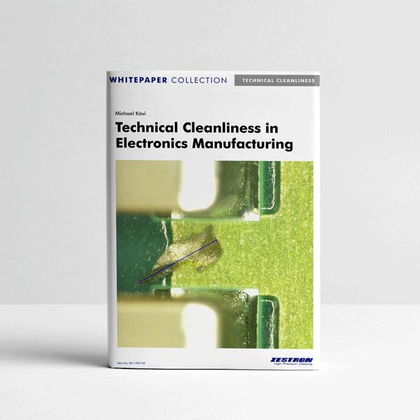 Technical Cleanliness in Electronics Manufacturing